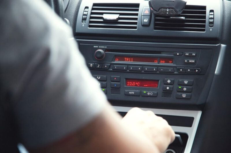 Piękny zapach w samochodzie